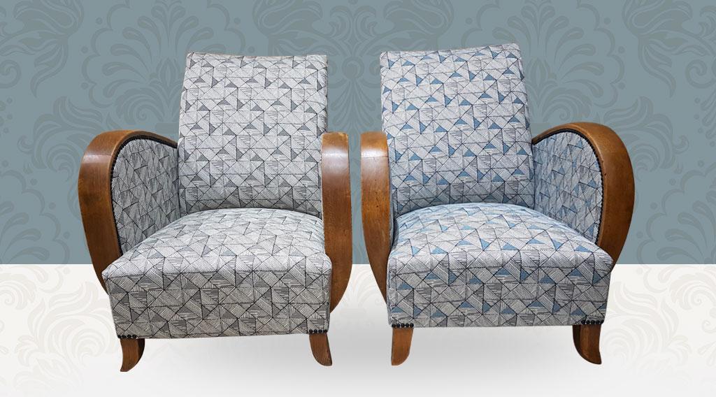 Paire de fauteuil 1930 Art Déco